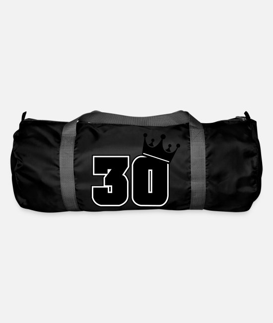 Birthday Bags & Backpacks - 30 - Duffle Bag black