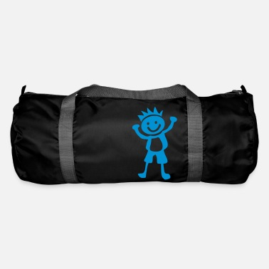 Childrens Drawing Boy children drawing 1401 - Duffle Bag