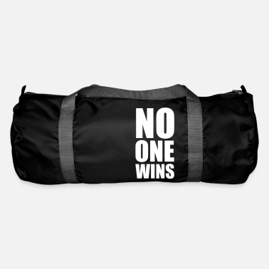 Wisdom no one wins - Duffle Bag