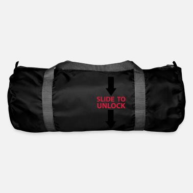 Open Underwear Slide to unlock (vertically from top to bottom) 2 - Duffle Bag