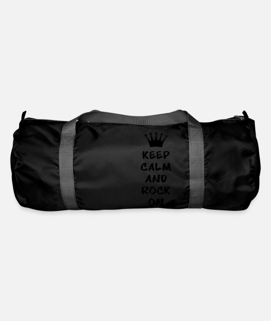 Skirt Bags & Backpacks - Keep calm and - Duffle Bag black