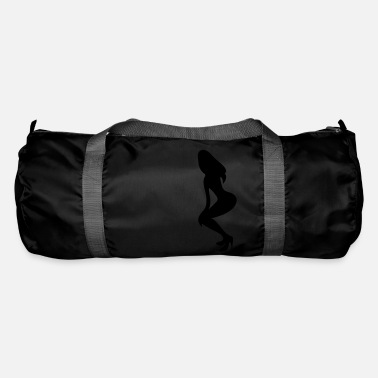 Long Underwear ۞»♥Vector Sexy Wasp-waisted woman on Stilettos♥ - Duffle Bag