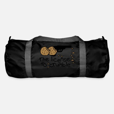 the license to crumble - Duffle Bag