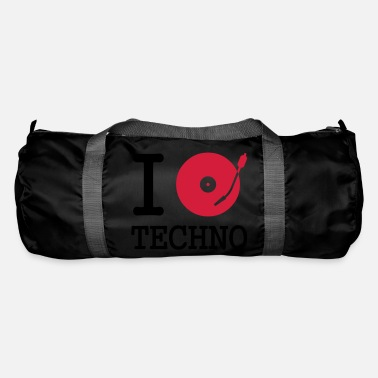 Dancefloor i dj / play / listen to techno - Sac de sport