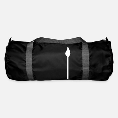 Drawing Painting Symbol paint brush symbol - Duffle Bag