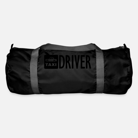 Taxi Driver Bags & Backpacks - TAXI Driver - Duffle Bag black