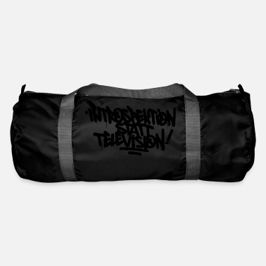 Introspection instead Television - Duffle Bag