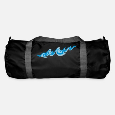 Sea Underwear Waves 2C - Duffle Bag