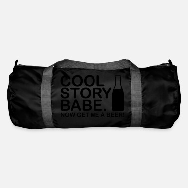 Babe cool_story_bebe_get_me_a_beer_f1_ - Duffle Bag