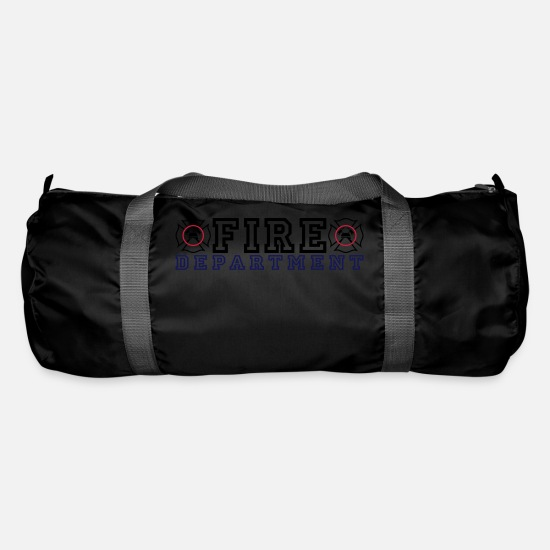 Fire Department Bags & Backpacks - Fire Department with Malteser Cross - Duffle Bag black