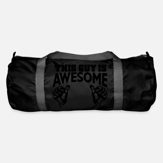 Awesome Bags & Backpacks - awesome - Duffle Bag black