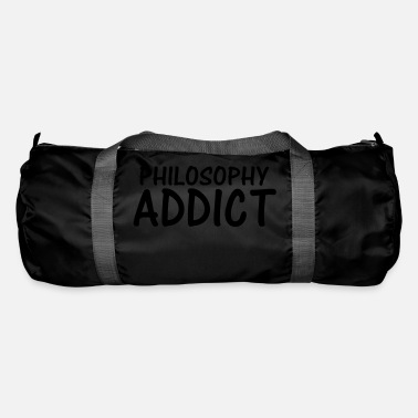 Philosophy philosophy addict - Duffle Bag