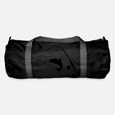 Fishing Rod Fishing rod and fish, fishing - Duffle Bag
