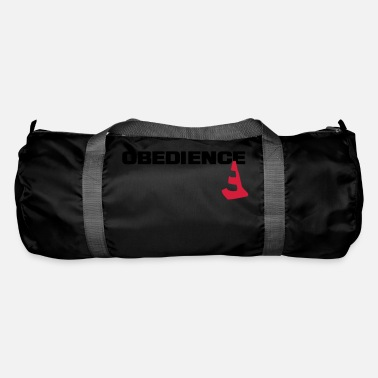 Obedience Obedience with pylons - Duffle Bag