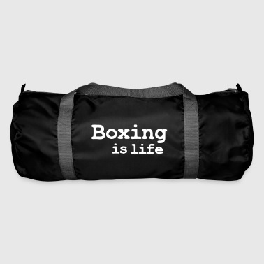boxing is life - Sporttasche