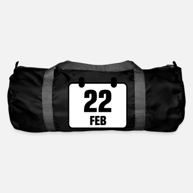 Memorial Day 22 february birthday anniversary 2c - Duffle Bag