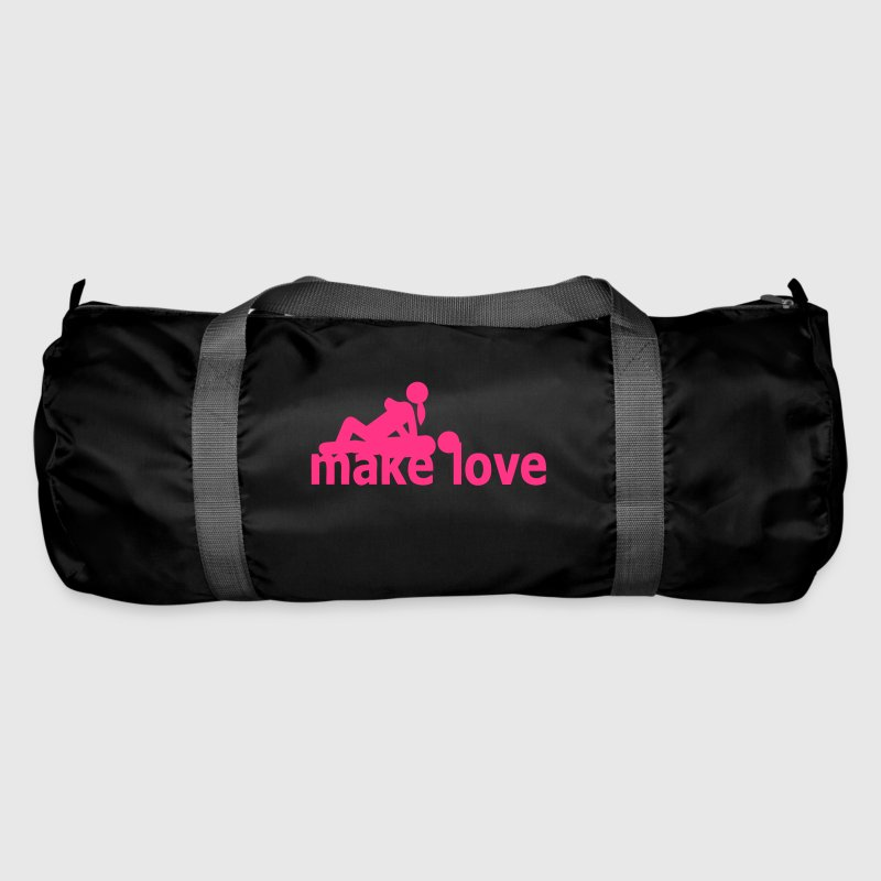 quote sex make love couple love position - Duffel Bag