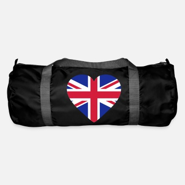 Shape Underwear Heart Britain - Duffle Bag