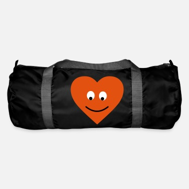 Witty heart face - Duffle Bag