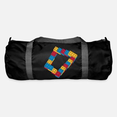 Play optical illusion - endless steps - Duffle Bag