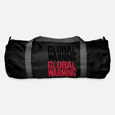 Global Global Advarsel - Global Warming - Sportstaske