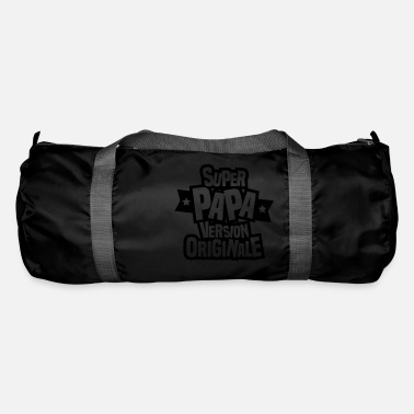 Original Papa super papa version originale - Sac de sport