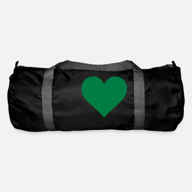 Serce Green Heart Love - Sporttasche