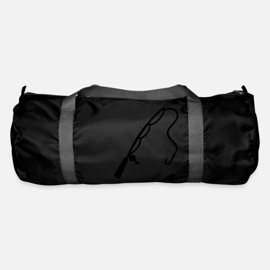 Sports Bags & Backpacks - Fishing rod - Duffle Bag black