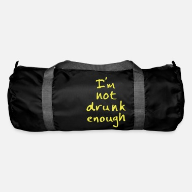 Bachelor not drunk enough - Duffle Bag