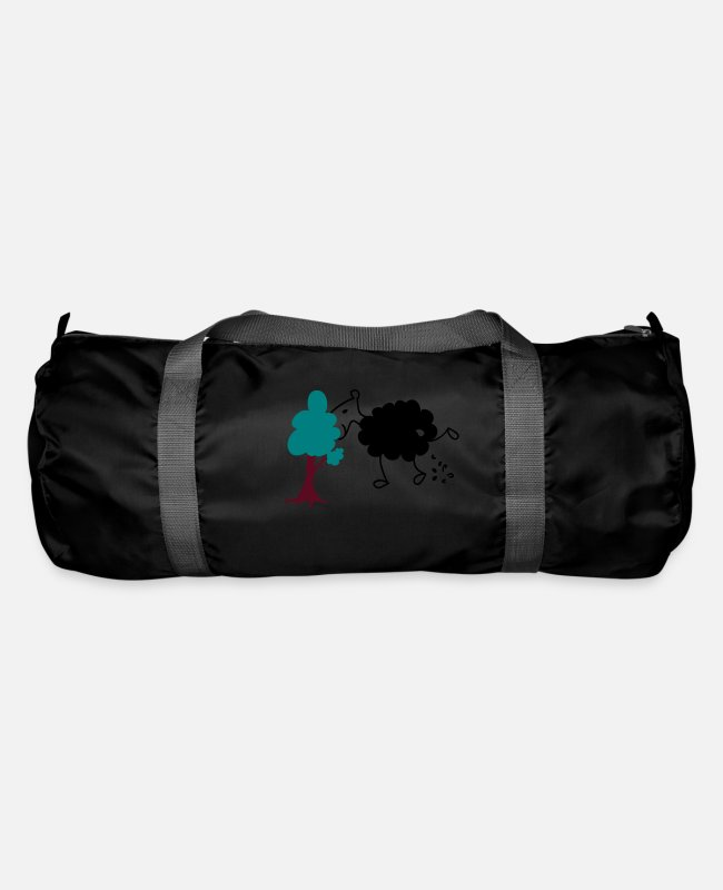 Nature Bags & Backpacks - Schwarzes Schaf Pisser / Sheep in wolf's clothing - Duffle Bag black