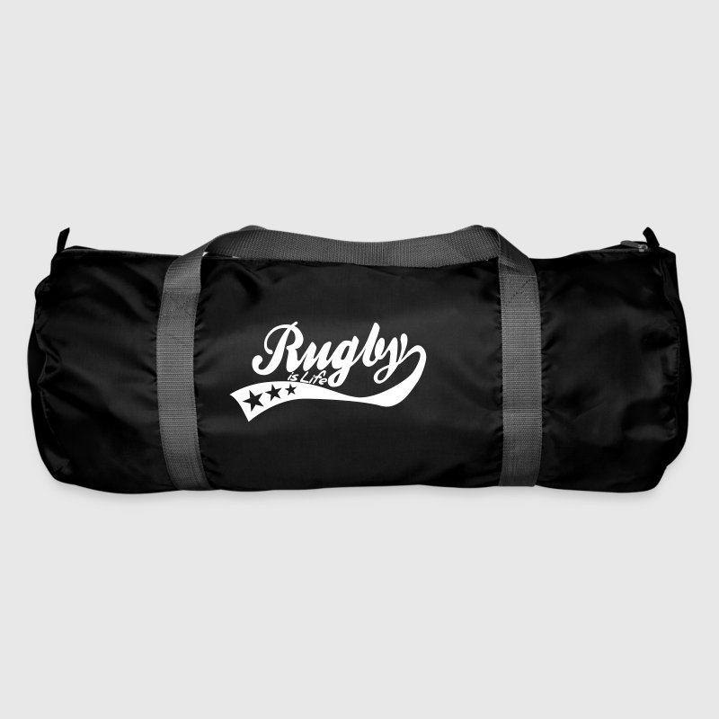 rugby is life - retro - Sac de sport