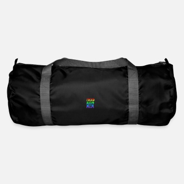Same-sex Proud Ally Mom - same-sex love - Duffel Bag