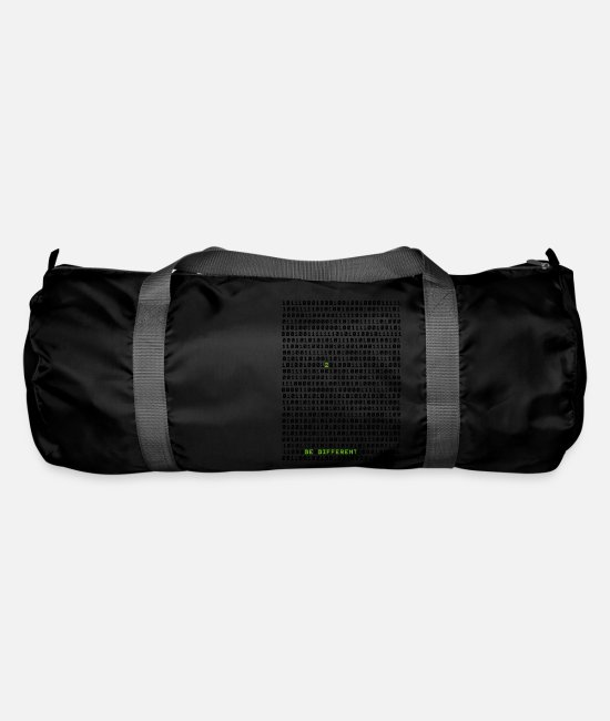 Be Different Bags & Backpacks - Be different ! - Duffle Bag black
