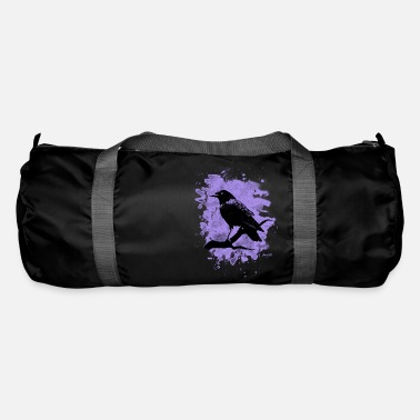 Crow Metal Crow bleached violet - Sporttasche