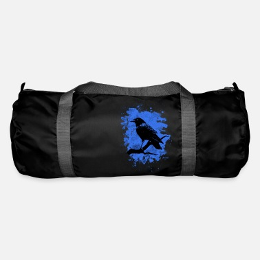 Crow Metal Crow bleached blue - Sporttasche