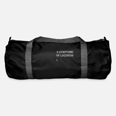 Lazy lazy laziness lazy lazy nix do nothing - Duffle Bag