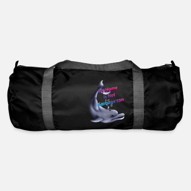 my home is not garbage can - Duffle Bag