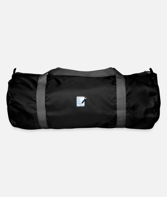 Piano Bags & Backpacks - notes - Duffle Bag black