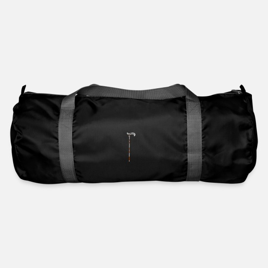 Senior Bags & Backpacks - walking stick - Duffle Bag black
