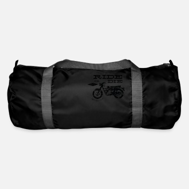 Motorcycle Rolling or Dying Biker - Duffle Bag