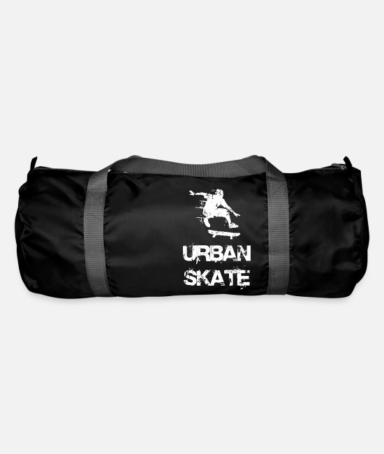 Rap Bags & Backpacks - URBAN SKATE WHITE - Duffle Bag black