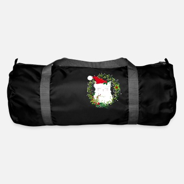 Christmas Christmas cat - Duffle Bag