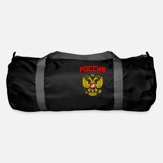 Communist Bags & Backpacks - Russia Poccnr Crest - Duffle Bag black