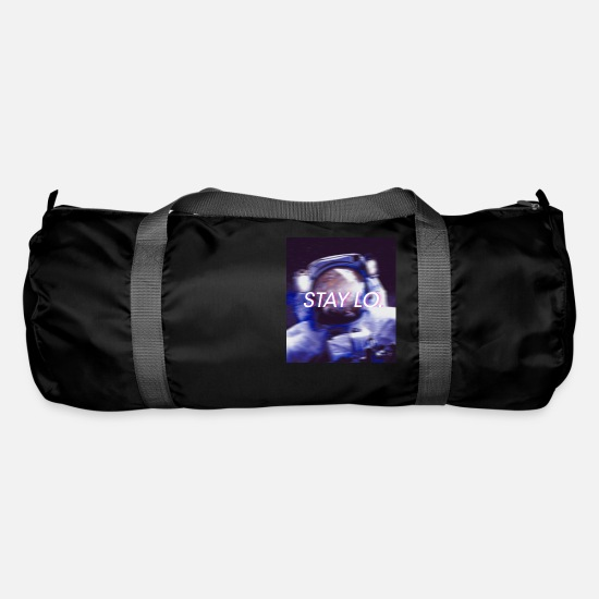 Space Ship Bags & Backpacks - STAY LO. - Duffle Bag black