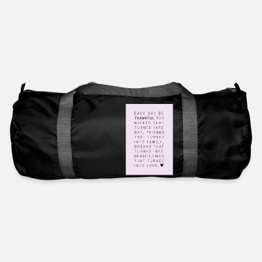 Thankful Thankful - Duffle Bag