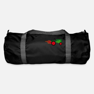 Tractor Towing Tractor green | Trecker | Towing truck Bulldog builder - Duffle Bag