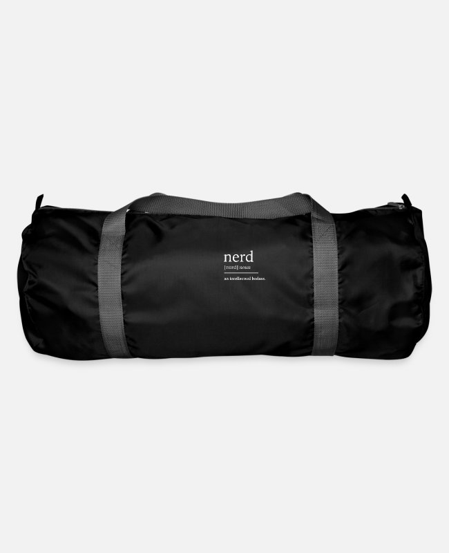Studies Bags & Backpacks - Nerd nerd - Duffle Bag black