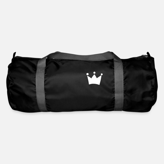 Gift Idea Bags & Backpacks - Crown King Queen - Duffle Bag black