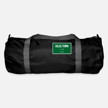 Town Value Town town sign - Duffle Bag