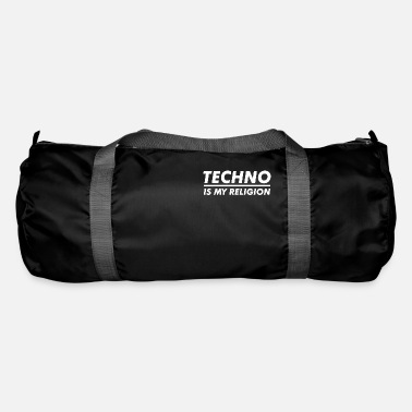 Make Music Techno is my Religion - Duffle Bag